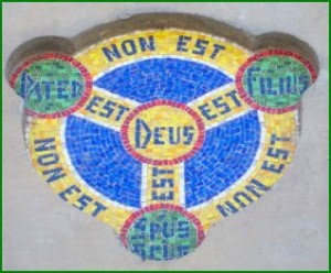 Church Ext - Non Est Deus Shield
